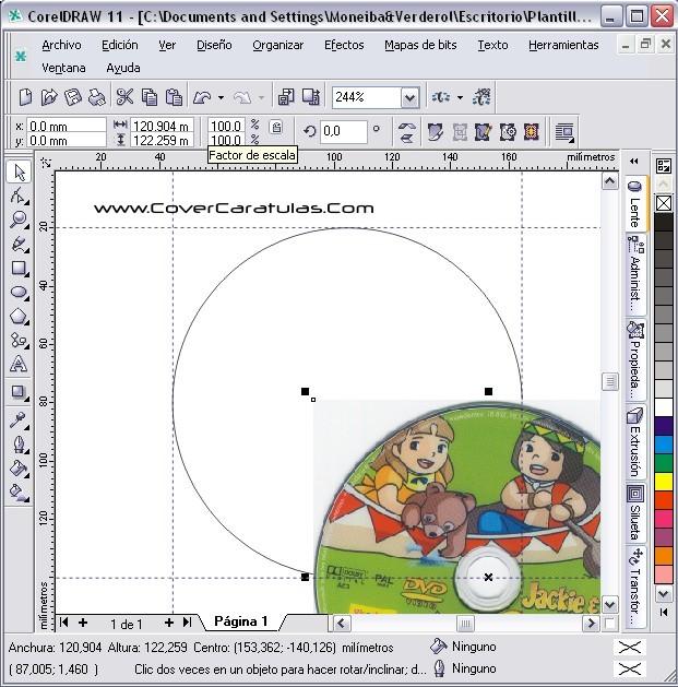 CoverCaratulas • Ver Tema - Recortar Cd/Dvd (Corel Draw)