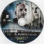 miniatura Bron El Puente Broen Temporada 01 Disco 01 Por Frankensteinjr cover bluray