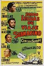 miniatura 20 000 Leguas De Viaje Submarino 1954 Por Peppito cover carteles