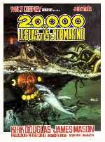 miniatura 20 000 Leguas De Viaje Submarino 1954 V2 Por Koreandder cover carteles