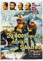 miniatura 20 000 Leguas De Viaje Submarino 1954 V6 Por Pakokoko cover carteles