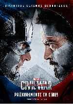 miniatura Capitan America Civil War Por Franvilla cover carteles