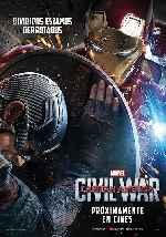miniatura Capitan America Civil War V02 Por Franvilla cover carteles