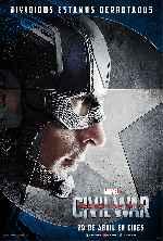 miniatura Capitan America Civil War V04 Por Franvilla cover carteles
