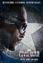 miniatura Capitan America Civil War V05 Por Franvilla cover carteles