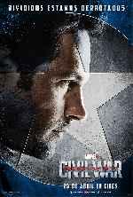 miniatura Capitan America Civil War V06 Por Franvilla cover carteles