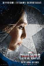 miniatura Capitan America Civil War V07 Por Franvilla cover carteles