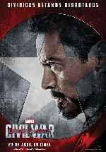 miniatura Capitan America Civil War V10 Por Franvilla cover carteles
