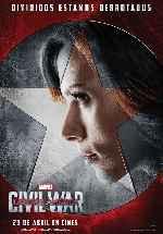 miniatura Capitan America Civil War V11 Por Franvilla cover carteles