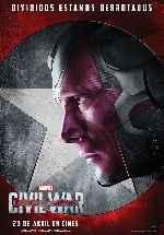 miniatura Capitan America Civil War V12 Por Franvilla cover carteles