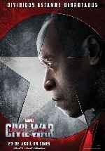 miniatura Capitan America Civil War V13 Por Franvilla cover carteles