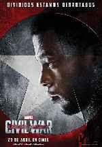 miniatura Capitan America Civil War V14 Por Franvilla cover carteles