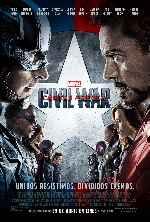 miniatura Capitan America Civil War V15 Por Franvilla cover carteles