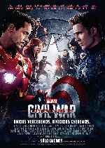 miniatura Capitan America Civil War V16 Por Franvilla cover carteles
