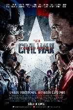 miniatura Capitan America Civil War V18 Por Mrandrewpalace cover carteles