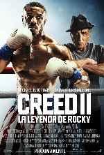 miniatura Creed Ii La Leyenda De Rocky V2 Por Chechelin cover carteles