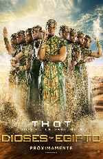 miniatura Dioses De Egipto V06 Por Chechelin cover carteles