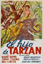 miniatura El Hijo De Tarzan Por Alcor cover carteles