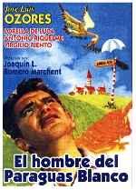 miniatura El Hombre Del Paraguas Blanco Por Lupro cover carteles