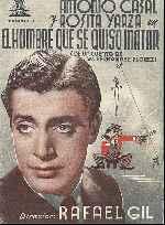 miniatura El Hombre Que Se Quiso Matar 1942 Por Lupro cover carteles