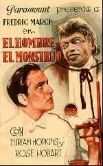 miniatura El Hombre Y El Monstruo V2 Por Lupro cover carteles