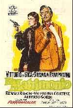 miniatura El Matrimonio 1954 Por Lupro cover carteles