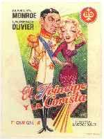 miniatura El Principe Y La Corista Por Peppito cover carteles