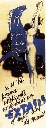 miniatura Extasis 1933 Por Morvent cover carteles