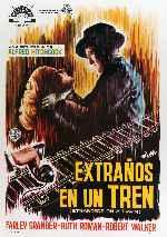 miniatura Extranos En Un Tren Por Peppito cover carteles