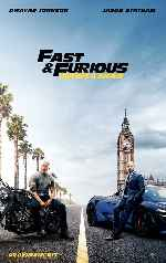 miniatura Fast & Furious Hobbs & Shaw Por Chechelin cover carteles