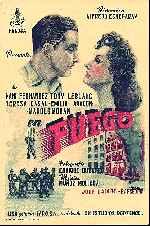miniatura Fuego 1949 Por Lupro cover carteles