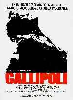 miniatura Gallipoli Por Peppito cover carteles