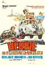 miniatura Herbie En El Grand Prix De Montecarlo Por Vimabe cover carteles