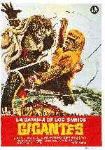 miniatura La Batalla De Los Simios Gigantes Por Melegar cover carteles