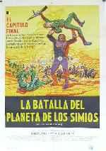miniatura La Batalla Del Planeta De Los Simios Por Franvilla cover carteles