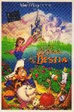 miniatura La Bella Y La Bestia 1991 V3 Por Ricklan cover carteles