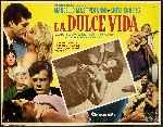 miniatura La Dulce Vida 1960 Por Lupro cover carteles