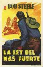 miniatura La Ley Del Mas Fuerte 1932 Por Lupro cover carteles