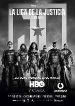 miniatura La Liga De La Justicia De Zack Snyder V2 Por Franvilla cover carteles