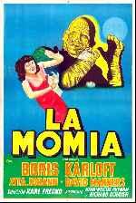 miniatura La Momia 1932 Por Lupro cover carteles
