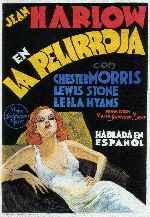 miniatura La Pelirroja 1932 Por Peppito cover carteles