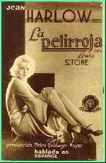 miniatura La Pelirroja 1932 V3 Por Lupro cover carteles