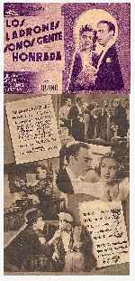 miniatura Los Ladrones Somos Gente Honrada 1942 Por Lupro cover carteles