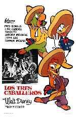 miniatura Los Tres Caballeros V7 Por Koreandder cover carteles