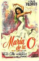 miniatura Maria De La O 1959 Por Koreandder cover carteles