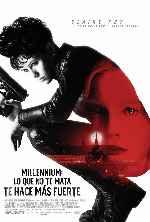 miniatura Millennium Lo Que No Te Mata Te Hace Mas Fuerte V2 Por Chechelin cover carteles
