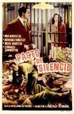 miniatura Pacto De Silencio 1949 Por Alcor cover carteles