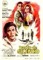 miniatura Pacto De Silencio 1963 Por Alcor cover carteles