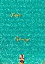 miniatura Palm Springs V2 Por Frankensteinjr cover carteles