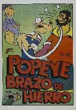 miniatura Popeye Brazo De Hierro Por Alcor cover carteles